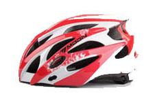자전거 헬멧  최고급 레드 머리둘레 58-61CM