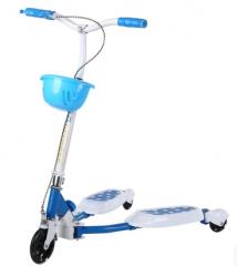 킥보드 발광 블루 세바퀴