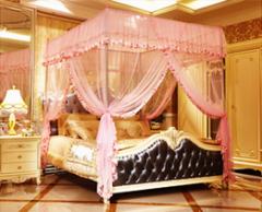 캐노피모기장 핑크 1.8M