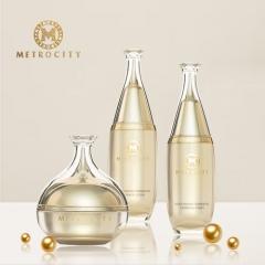 韩国 METROCITY 水律润莹发酵水乳霜套盒