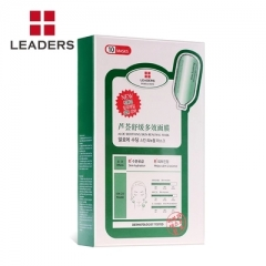 LEADERS/丽得姿针剂补水保湿美白提亮肤色面膜 绿色-芦荟舒缓