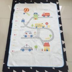 韩国 &story 床垫 纯棉儿童防水隔尿垫 CARS