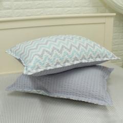 韩国 &story 水波波纹儿童床品套件 被子床垫 波纹枕套