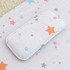 韩国&story儿童枕头3D枕头防偏头宝宝婴儿凉枕透气枕空气枕0-3岁 小星星枕头