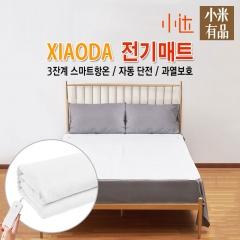 샤오미 유핀 XIAODA 저전자파 전기담요/전기매트/무료배송/돼지코증정/물세척 가능