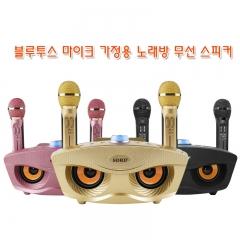 블루투스 마이크 가정용 노래방 무선 스피커