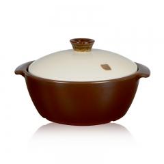 韩国HEALINGYO和灵窑养生料理煲22cm 1.7L 无水无油烟烹饪 微波炉加热包邮