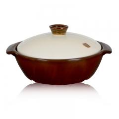 【进口保税】韩国HEALINGYO和灵窑养生料理煲22cm 1.3L 无水无油烟烹饪 微波炉加热包邮