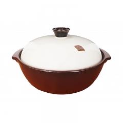 韩国HEALINGYO和灵窑养生料理煲27cm 2.5L 无水无油烟烹饪 微波炉加热包邮