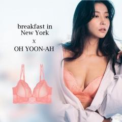 【进口保税】韩国Oh Lady 欧蕾伊 LBD橙色内衣套装 内衣80D