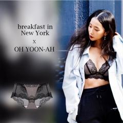 【进口保税】韩国Oh Lady 欧蕾伊 LBD 黑色内衣套装 内裤90