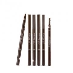 韩国爱丽自动双头眉笔4.5g防水防汗不晕染小屋眉笔