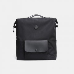 Practico Arte. hge 汉江背包黑色 小布车包   Brompton Backpack