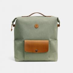 Practico Arte. hge 汉江背包橄榄色含货架 Brompton Backpack