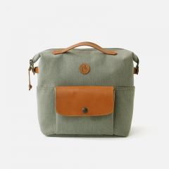 Practico Arte. hge 汉江迷你包橄榄色 小布车包 Brompton Mini Bag