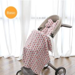 韩国borny 婴儿车安全座椅摇篮椅Basic纯棉靠垫座垫