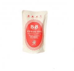 韩国保宁B&B 奶瓶奶嘴餐具清洁剂泡沫型替换装400ml 奶瓶清洗剂