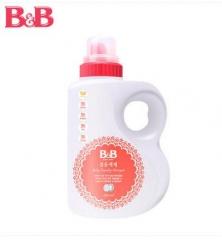 韩国保宁B&B 婴儿除菌桶装纤维洗涤剂 1500ML