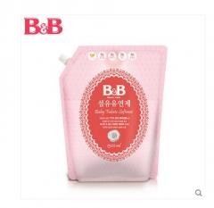 韩国保宁B&B 茉莉&玫瑰香婴幼儿衣物抗菌柔顺剂补充装