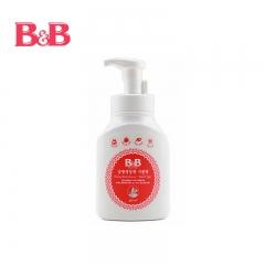 韩国保宁B&B 奶瓶奶嘴泡沫型清洁剂清洗剂瓶装 奶瓶清洗剂450ml
