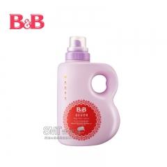 韩国保宁B&B 婴幼儿衣物抗菌瓶装柠檬西柚柔顺剂