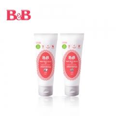 韩国保宁B&B 婴儿凝胶型口腔清洁剂   2-4岁 草莓