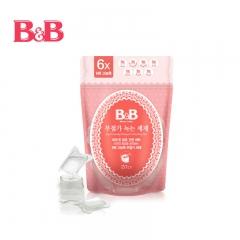 韩国保宁B&B 婴幼儿融水浓缩洗涤剂 231ml(20粒装)