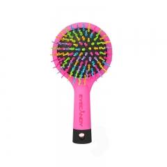 韩国EYECANDY 彩虹梳 丰盈气垫梳子 中号 粉色