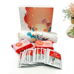 韩国 新生儿精致儿童薄被套盒