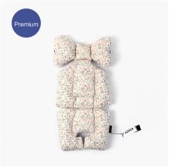 韩国正品代购borny Premium纯棉婴儿车安全座椅摇篮椅靠垫座垫 可可兔