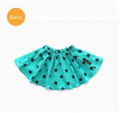 韩国Borny婴儿套头围嘴新款双面口水巾 贝贝星 绿色