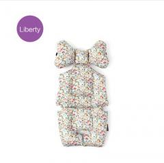韩国borny 婴儿车安全座椅摇篮椅LIberty纯棉靠垫座垫 贝特西 蓝