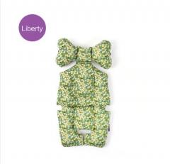 韩国borny 婴儿车安全座椅摇篮椅LIberty纯棉靠垫座垫 弥陀寺 绿