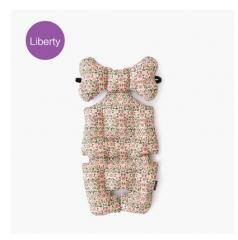 韩国borny 婴儿车安全座椅摇篮椅LIberty纯棉靠垫座垫 小蔷薇