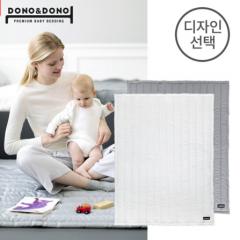 韩国原装进口正品DONO&DONO多乐婴儿加厚睡眠柔软垫子新生儿 抗菌垫 S 白色 110*