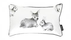 韩国原装进口正品DONO&DONO多乐婴儿儿童床品空气枕头枕芯+枕套 动物