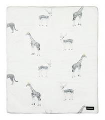 韩国原装进口DONO&DONO多乐新生儿婴儿儿童北欧风四季被棉盖毯子 动物