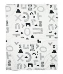 韩国原装进口DONO&DONO多乐新生儿婴儿儿童北欧风四季被棉盖毯子 迷宫