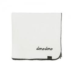 韩国进口DONO&DONO多乐多乐4层纯棉muslin浴巾106 x 106厘米 白色