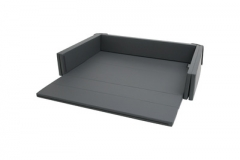 韩国原装进口DONO&DONO多乐婴儿儿童沙发床连地垫爬行垫 黑色