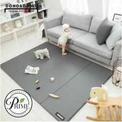 韩国原装进口正品DONO&DONO多乐婴儿折叠加厚卧室地板游戏爬行垫 黑色