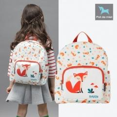 韩国正品 Pot de miel儿童双肩背包男童女童儿童书包幼儿园小学生 狐狸 均码