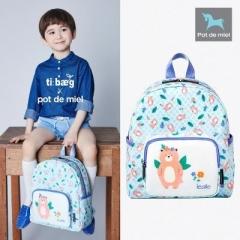 韩国正品 Pot de miel儿童双肩背包男童女童儿童书包幼儿园小学生 小熊 均码