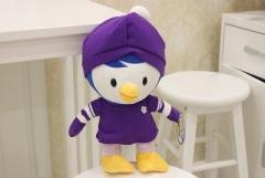 韩国正品啵乐乐pororo正品企鹅公仔宝露露毛绒玩具生日礼物娃娃 佩蒂 小号