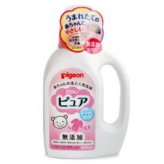 日本原装进口贝亲婴儿洗衣液 婴幼儿童新生宝宝专用抑菌消毒800ml