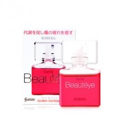 【自营】日本参天进口Beautyeye玫瑰眼药水滴眼液润眼液缓解眼疲劳12ml