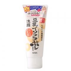 日本sana豆乳洗面奶女深层清洁温和补水清爽洁面乳