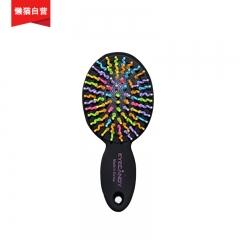 韩国EYECANDY 彩虹丰盈气垫梳子 迷你 彩虹梳