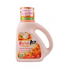 日本进口狮王 TOP持久香氛柔顺防静电宝宝洗衣液(花果香)900g
